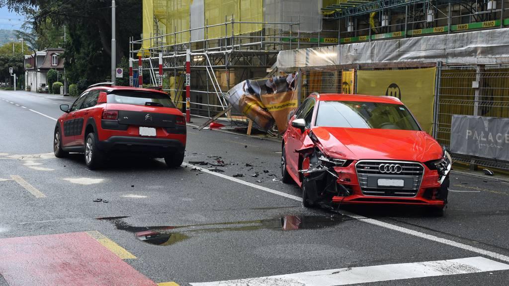 90'000 Franken Sachschaden bei diversen Unfällen