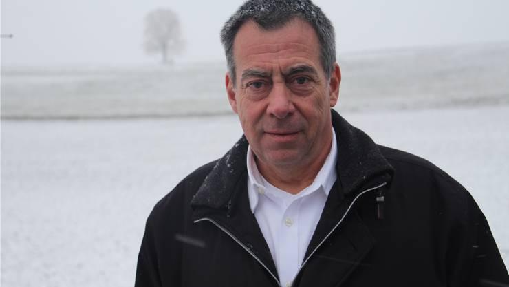 Ein Mann für Wind und Wetter: Christoph Liebetrau (60) zeltet auch gerne bei Schnee und orkanartigen Stürmen.