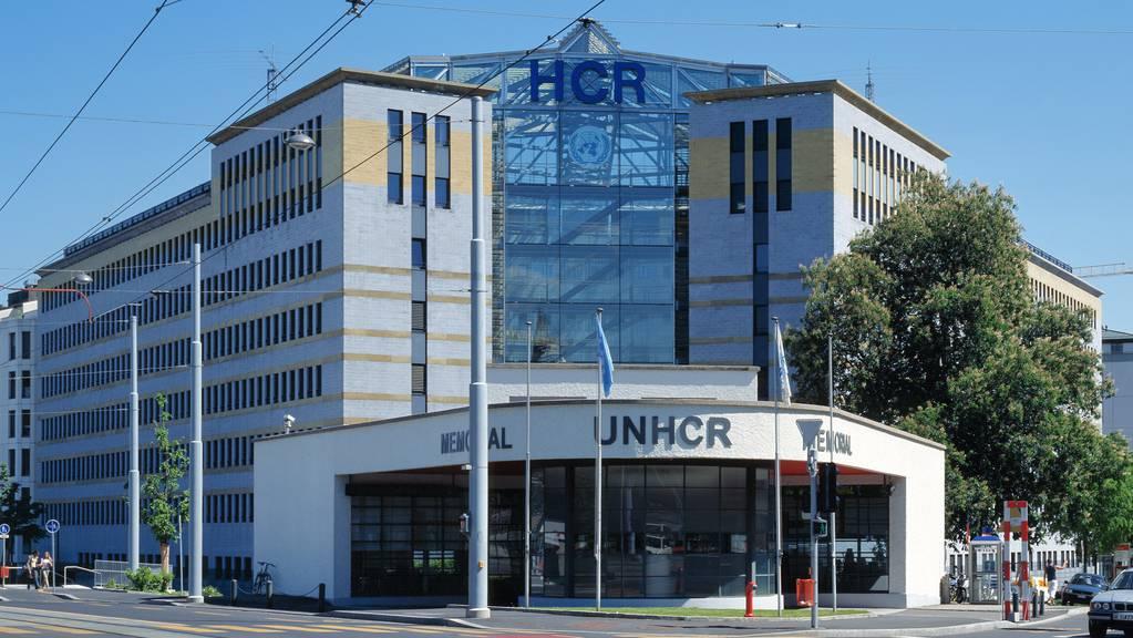 Das UNHCR-Gebäude in Genf