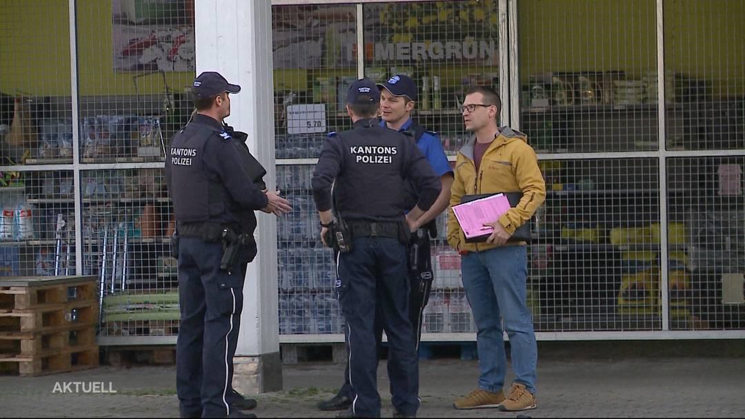 Bewaffnete Kiosk-Überfälle in Lupfig und Oensingen