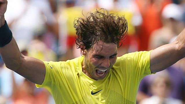 Hat derzeit allen Grund zum Jubeln: Rafael Nadal.