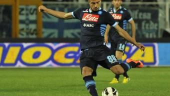 Gökhan Inler eröffnete gegen Pescara das Skore.