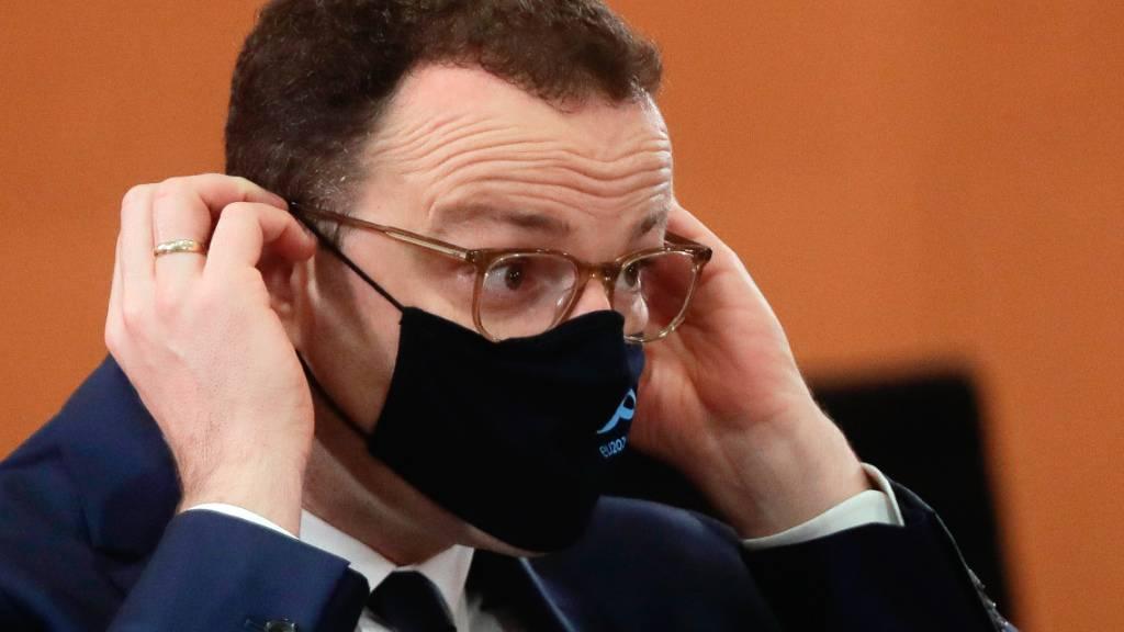 Gesundheitsminister Spahn positiv auf Coronavirus getestet