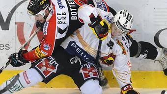 Fribourgs Botter gegen Torschütze Vermin