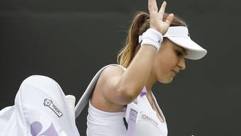Das Handgelenk spielt nicht mit: Belinda Bencic muss für Rio passen
