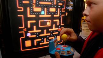 """Einfaches Prinzip, grosser Erfolg: Das Computergame """"Pac-Man"""" lockte seit den 1980ern eine ganze Generation in die Spielhallen. (Archiv)"""