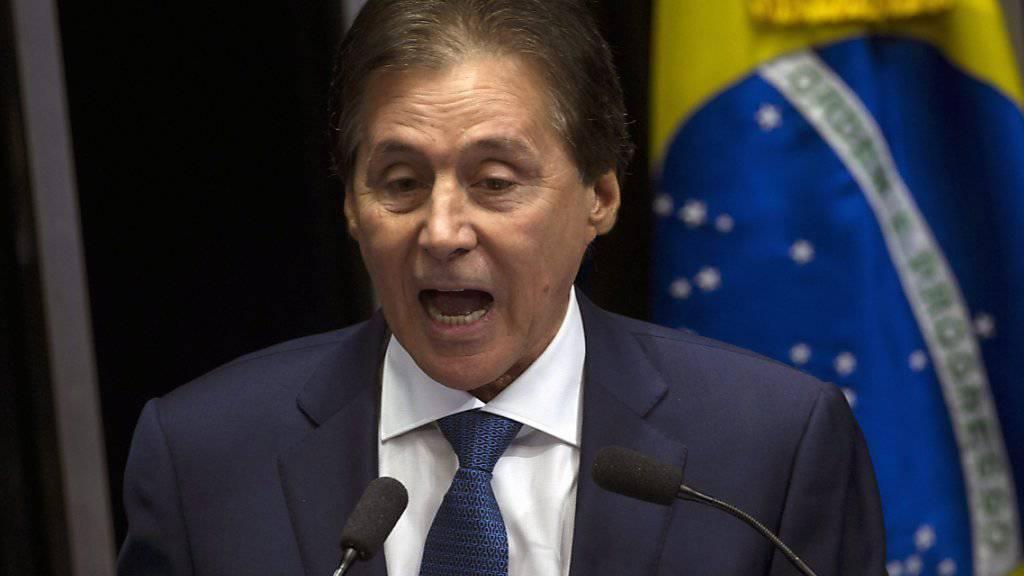 Gewählt: Eunício Oliveira ist der neue Senatspräsident Brasiliens.