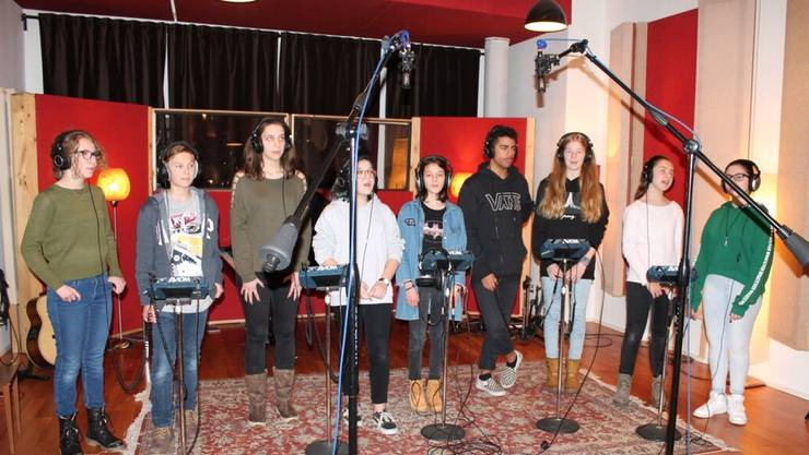 Der PopChor steht genau da, wo sonst internationale Stars stehen und singen.