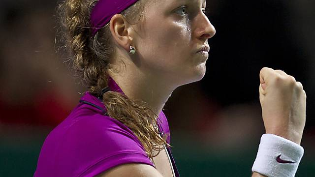 Petra Kvitova greift nach Masters-Krone