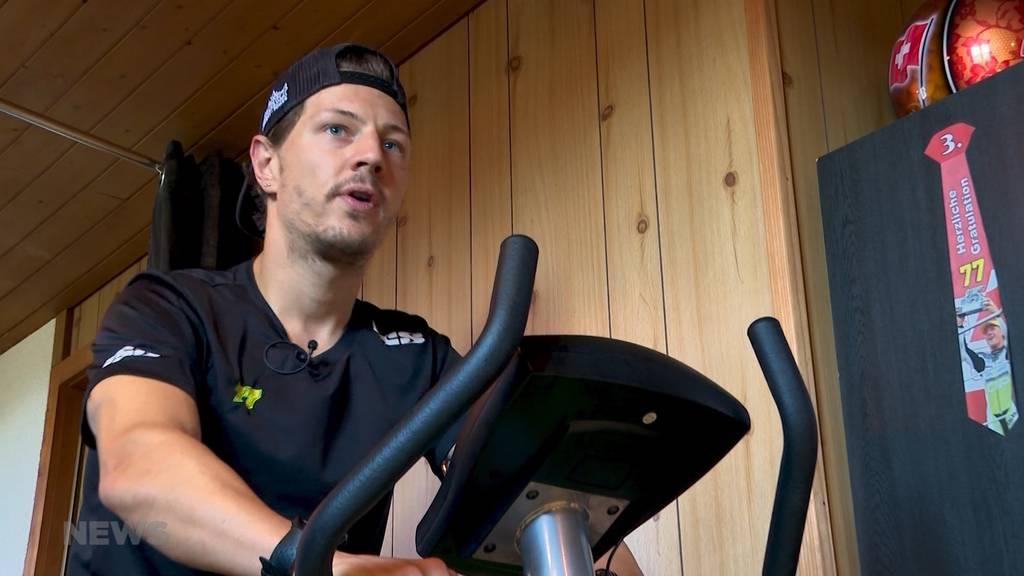 So geht Moto-E-Rennfahrer Dominique Aegerter mit der Corona-Krise um