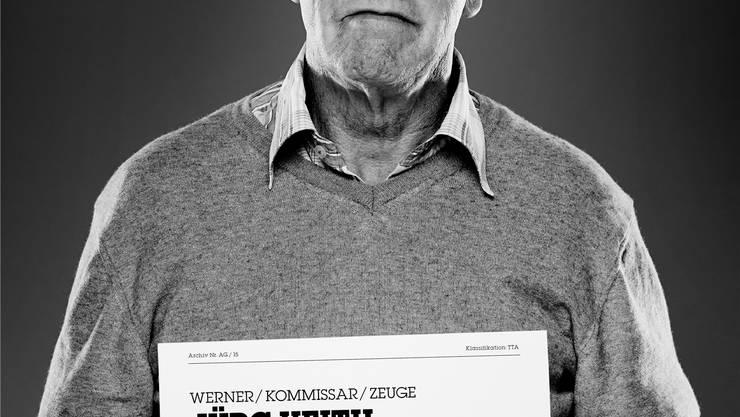 Auf der Bühne: Der Steckbrief des Rentners Jürg Veith.