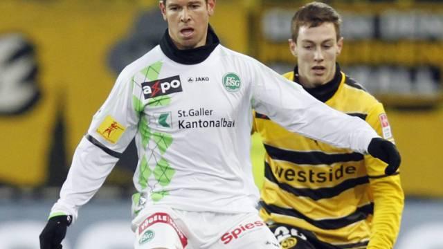 Mario Frick und der FC St. Gallen gehen getrennte Wege