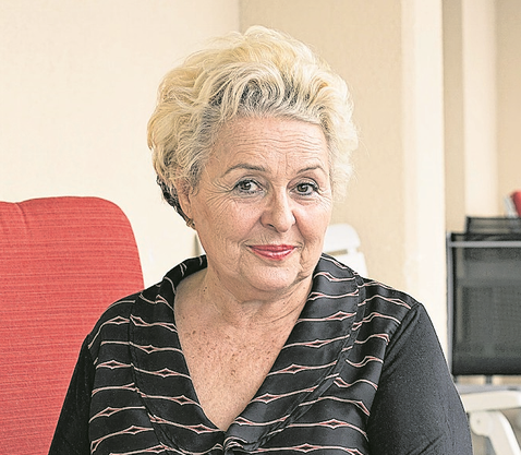 Wieder aufrecht in der Rehaklinik: Luljeta Pllana hats geschafft.