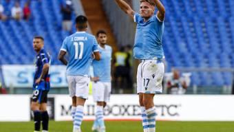 Ciro Immobile trifft beim 3:3 gegen Atalanta Bergamo zwei Mal vom Penaltypunkt