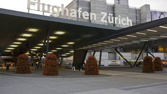 Platz 6. Flughafen Zürich Kloten.