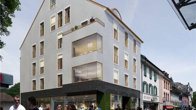 So wird sich das Haus Badstrasse 21 in Zukunft präsentieren. zvg