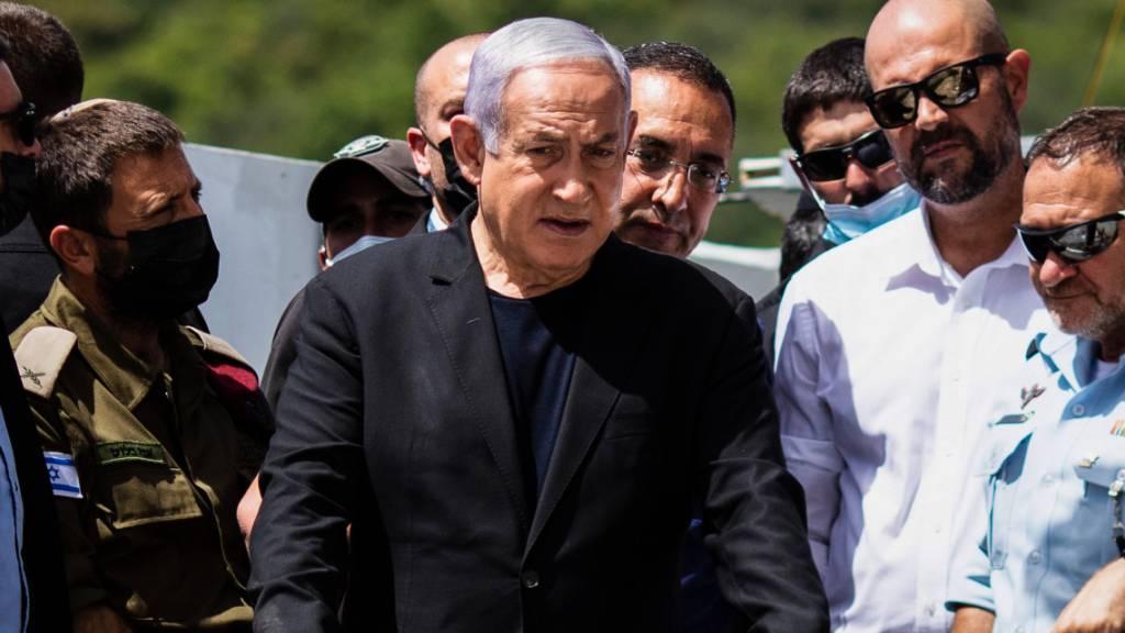 Ministerpräsident Netanjahu besucht Ort von Massenpanik in Israel