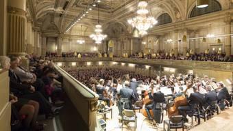 In der Tonhalle begeistert Ammanns Orchesterwerk viele Zuhörer (Symbolbild)
