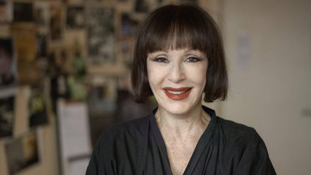 Die Performance- und Konzeptkunst-Pionierin Manon in ihrer Zürcher Wohnung (Archiv 2014).