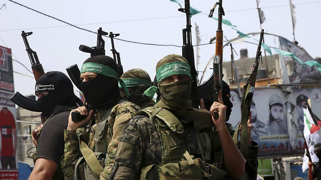 Hamas-Milizionäre im Gazastreifen (Archiv)