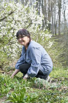 Elisabeth Bolliers Passion ist ihr Garten. Er bereitet ihr Freude und hält die 78-Jährige vital.