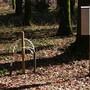 Mit Lysimeter und Kronentraufetrichter misst das Institut für angewandte Pflanzenbiologie die Schadstoffeinträge in den Wald.