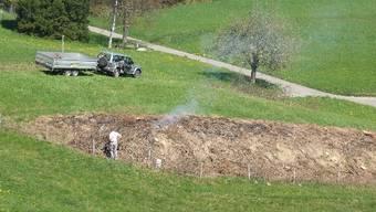 Ein Grundbesitzer liess seine Hecke im Gebiet Fuude roden.  ZVG