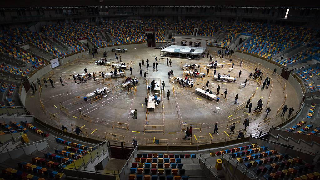 Separatisten mit Mehrheit in Katalonien - Aber Sozialisten sehr stark