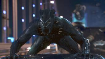 """Der Actionfilm """"Black Panther"""" hat am Wochenende vom 22. bis 25. Februar 2018 in den Schweizer Kinos am meisten Zuspruch geerntet. (Archiv)"""