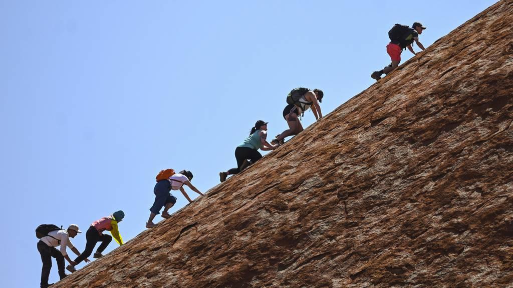 Australien sperrt Uluru für Touristen