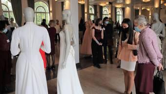 100 Jahre Jubiläumsfeier Schweizer Modegewerbeverband in Schönenwerd. Auch ein Bundesrat war dabei.