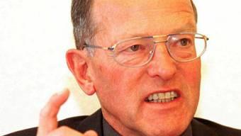 Verstorben: alt Ständerat und DRS-Ombudsmann Otto Schoch (Archiv)