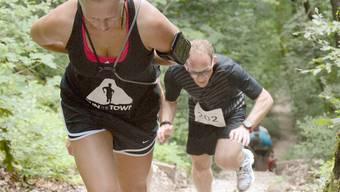 Am  Sonntag werden die Teilnehmerinnen und Teilnehmer wieder 1150 Treppenstufen hinter sich bringen.