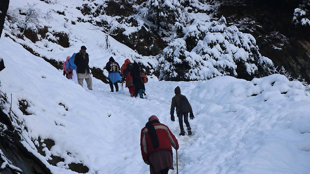 110 Tote wegen Schnee in Pakistan und Afghanistan