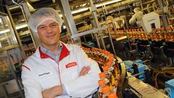Rivella-CEO Erland Brügger ist mit der Markteinführung zufrieden.