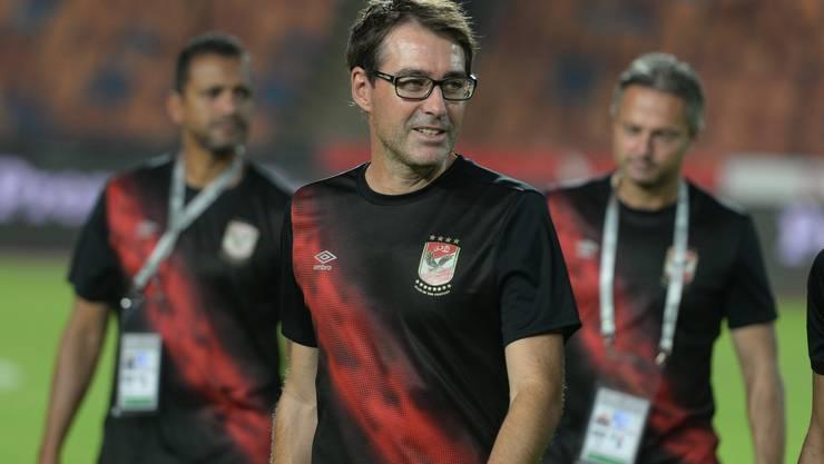 René Weiler verlässt seinen Klub Al Ahly Kairo auf eigenen Wunsch.