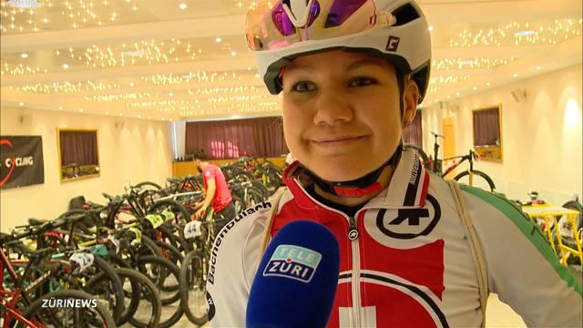 Zürcherin Sina Frei auf Mountainbike-WM-Kurs