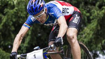 Julien Absalon ist die grosse Attraktion des Bike-Rennens in Lostorf.
