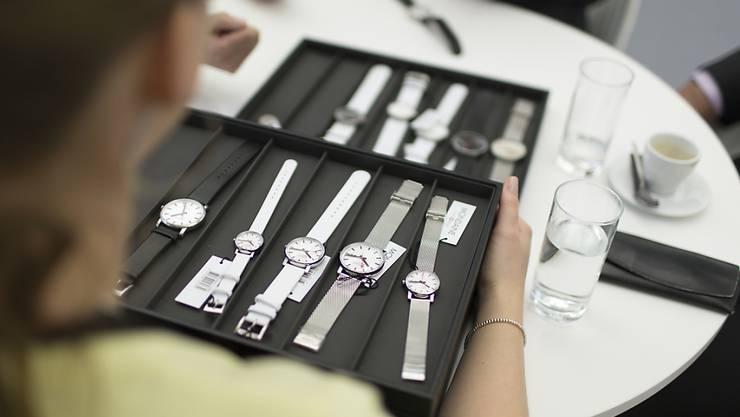 Die Ausfuhren von Schweizer Uhren haben im September den ersten Rückgang seit April 2017 erlitten. (Symbolbild)