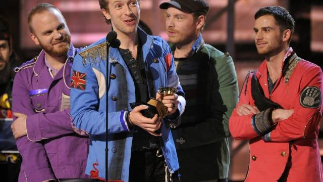 Coldplay bei den Grammys 2009