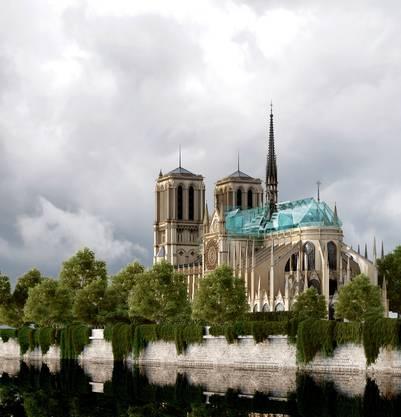 Kathedrale mit Glasdach.