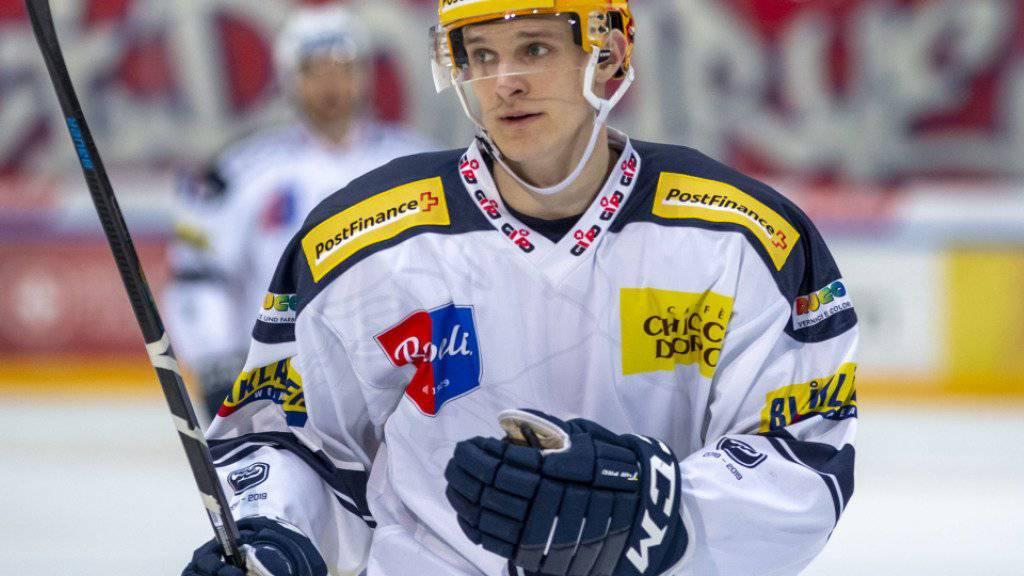 Die NHL-Rechte an Dominik Kubalik befinden sich nun im Besitz der Chicago Blackhawks
