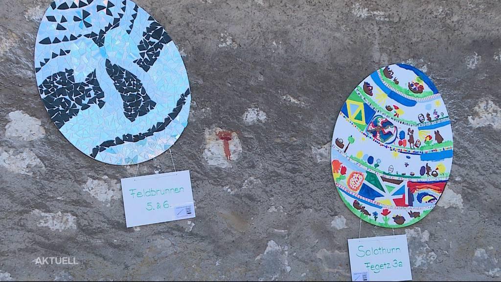 Osterweg ums Kapuzinerkloster: 35 Schulklassen basteln für den guten Zweck