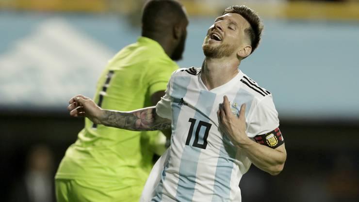 Lionel Messi wärmt sich mit einem Testspiel-Hattrick für die WM auf.
