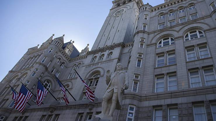 Das neue Trump International Hotel in Washington.