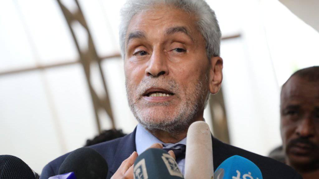 Laut Mohamed Lebatt, dem Vermittler der Afrikanischen Union, haben sich Opposition und Militärführung im Sudan auf eine Verfassungserklärung zur Machtverteilung geeinigt. (Archivbild)