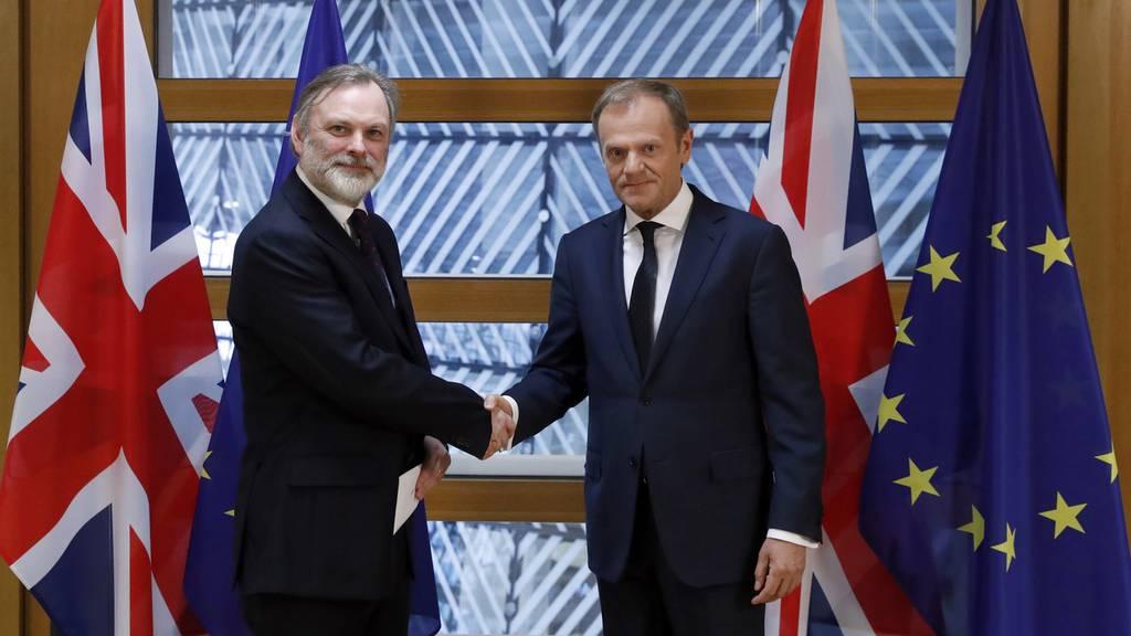 Grossbritannien erklärt offiziell EU-Austritt