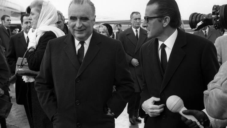 Georges Pompidou, Mitte, Amtszeit: 20. Juni 1969 – 2. April 1974