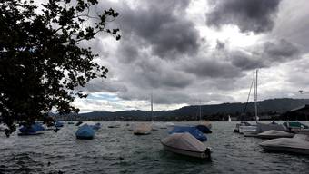 Der Zürichsee hatte nur kühle 12 Grad als der Mann hineingefallen war. (Symbolbild)