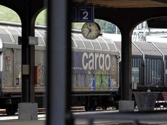 Auch SBB Cargo hat nach Verlusten wieder schwarze Zahlen geschrieben: 3,4 Millionen Franken Gewinn.